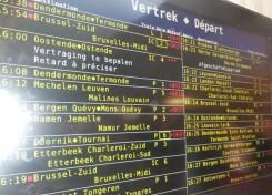 Compensatie treinvertragingen
