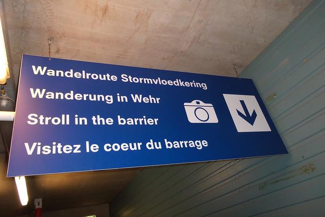 Wandelroute Stormvloedkering