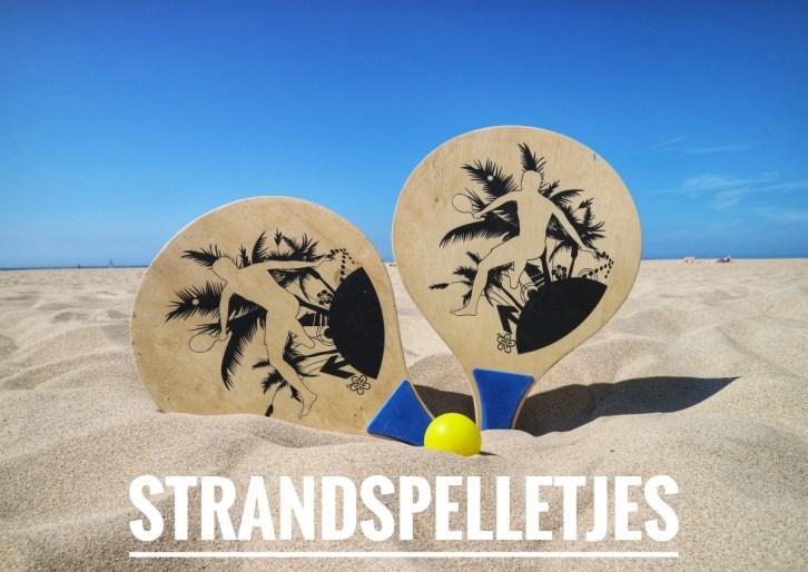 Strandspelletjes