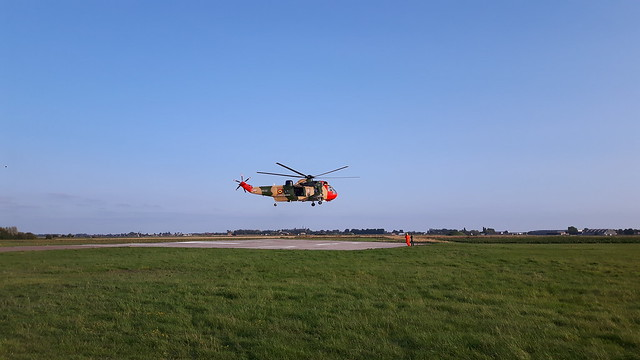Sea King take off