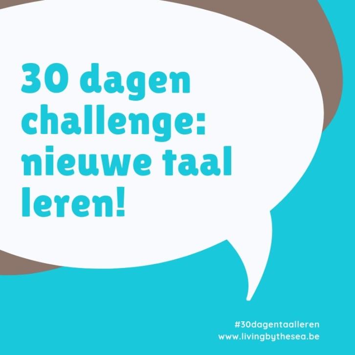30 dagen challenge nieuwe taal leren