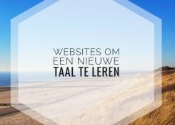 Websites om een nieuwe taal te leren