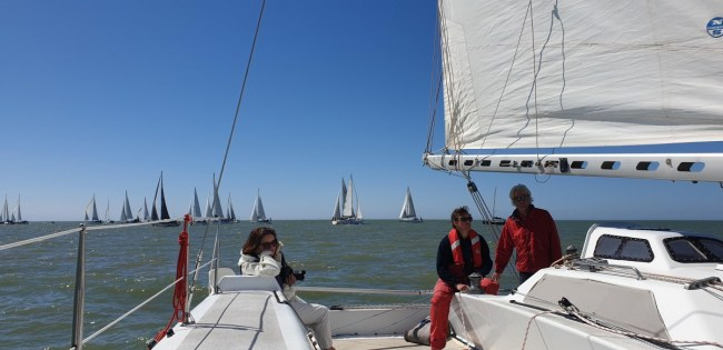 Zeilwedstrijd Captains of Industry Sailing Cup