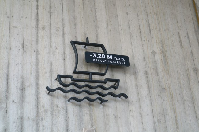 Onder de zeespiegel - NAP
