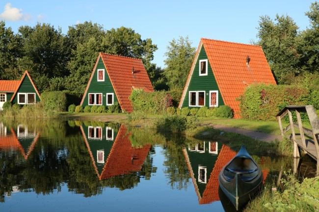 Vissershuisjes Vakantiepark Eigen Wijze Flevoland
