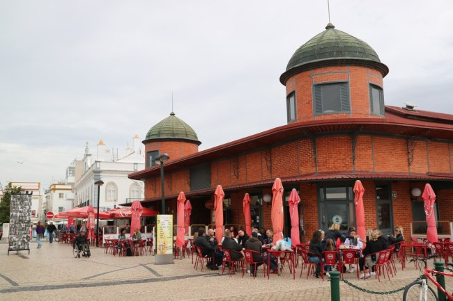 Food markets Olhao