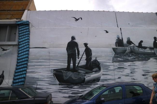 street art Olhão