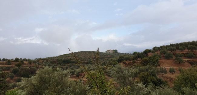 Kasteel in de buurt van Sparta