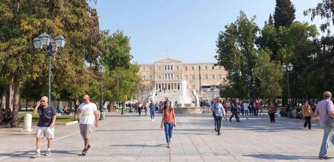 Citytrip Athene - Syntagmaplein