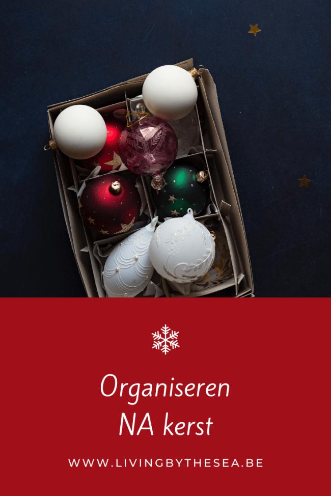 Organiseren na kerst