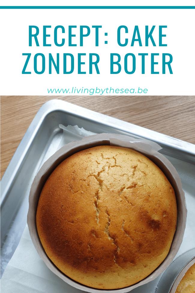 cake bakken zonder boter