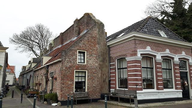 Muurhuisjes in Elburg