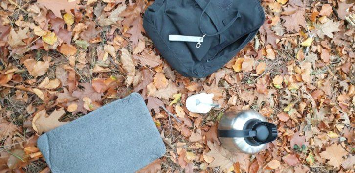 Essentials in mijn wandelrugzak
