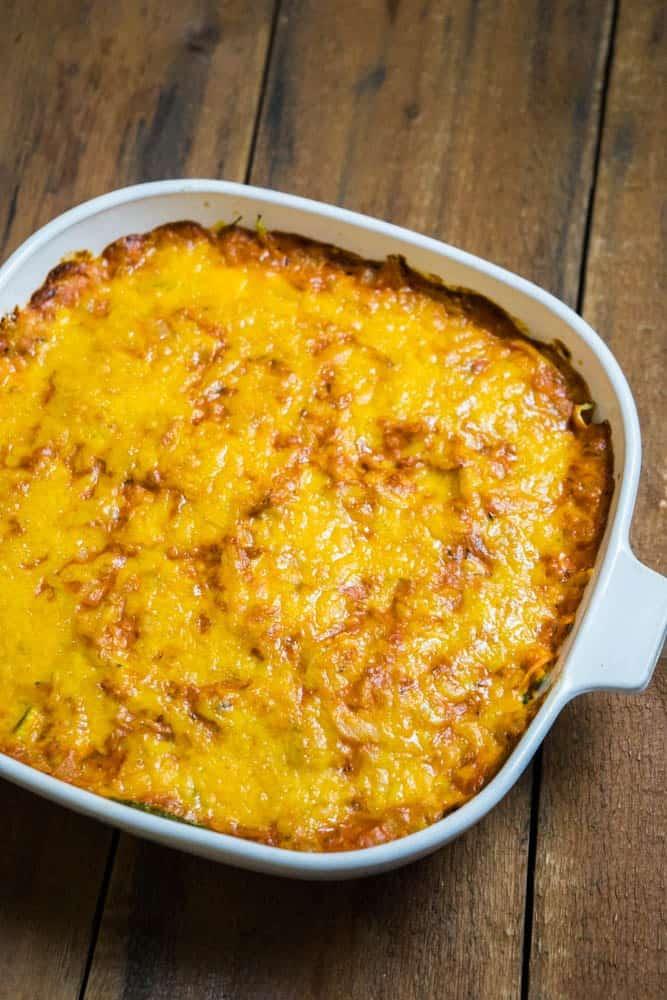 Tuna-Tomato-Zoodle-Bake
