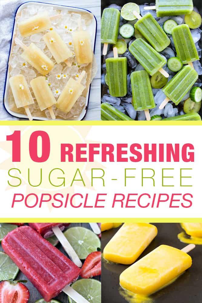 10 Refreshing Sugar Free Popsicle Recipes Pin