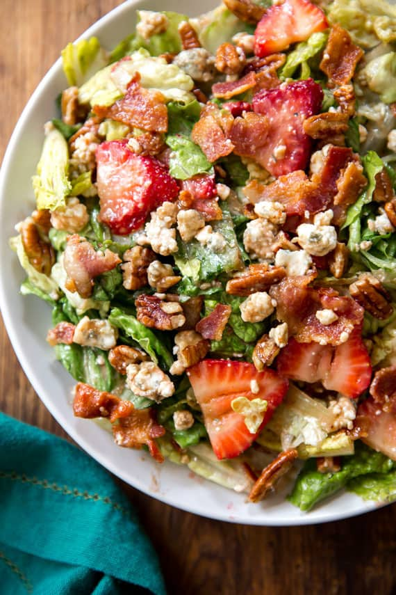 Strawberry and Bacon Salad