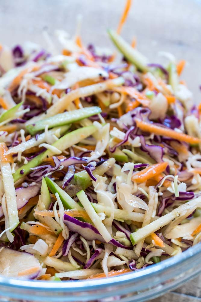 Cilantro Apple Slaw Whole 30 Paleo Low-Carb Gluten Free Healthy-2
