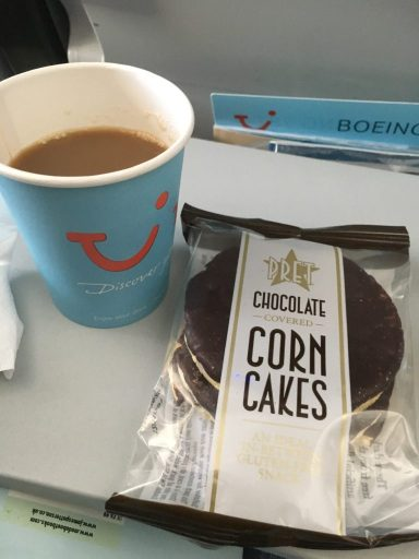 glutenfree, gluten free, livingcoeliac, corn cakes, in flight snacks, gluten free in flight snacks, pret a manger