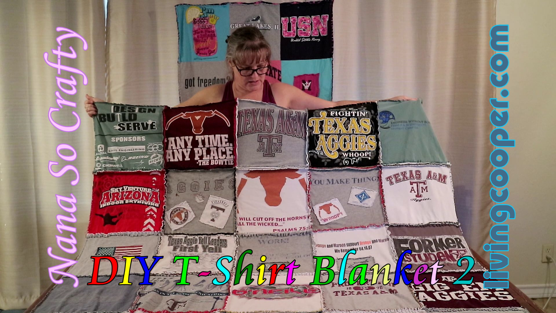 Two Sided T Shirt Quilt