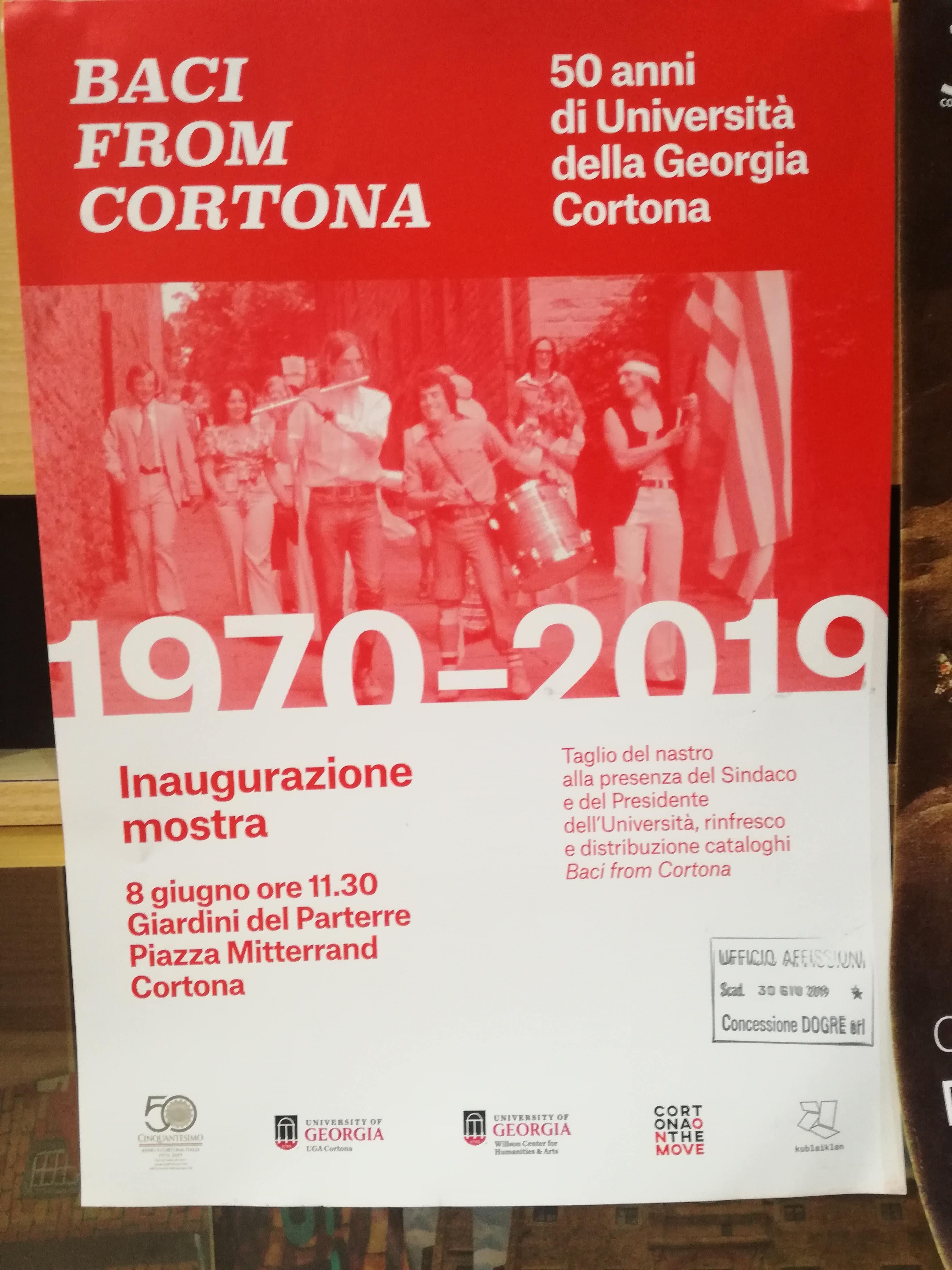 UGA cortona 50th anniversary