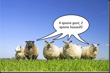 Spoon sheep