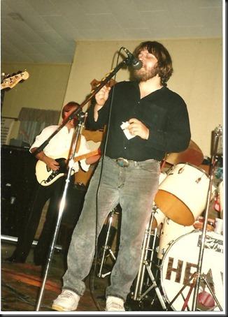 Dad band singing