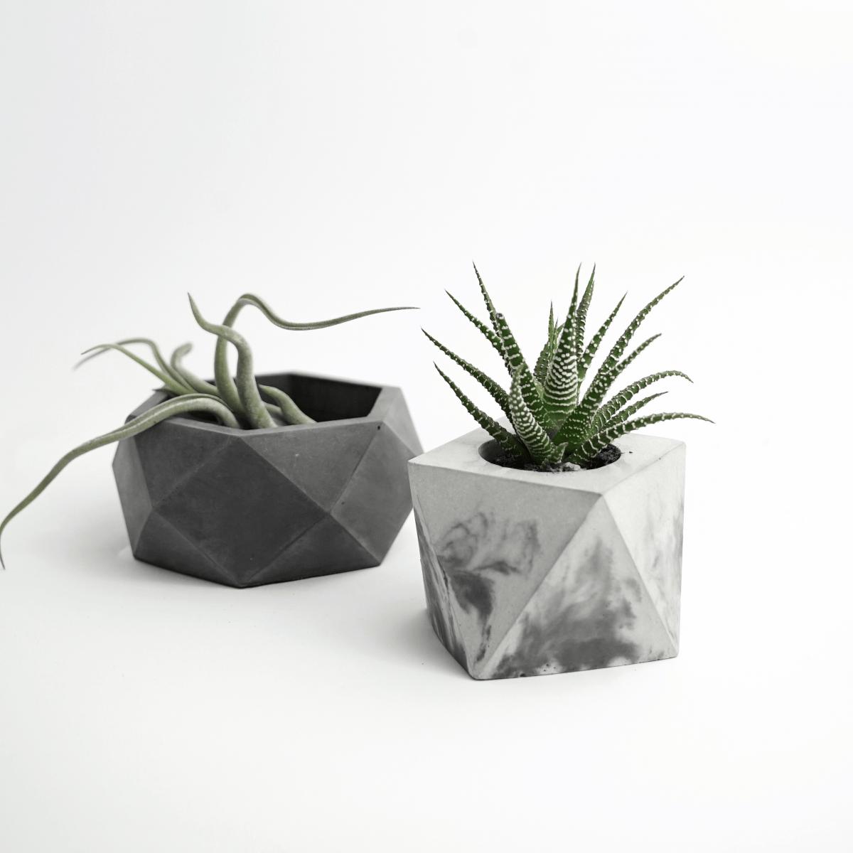 Vasi Moderni da interno  Vasi in cemento  FORMA MARBLE