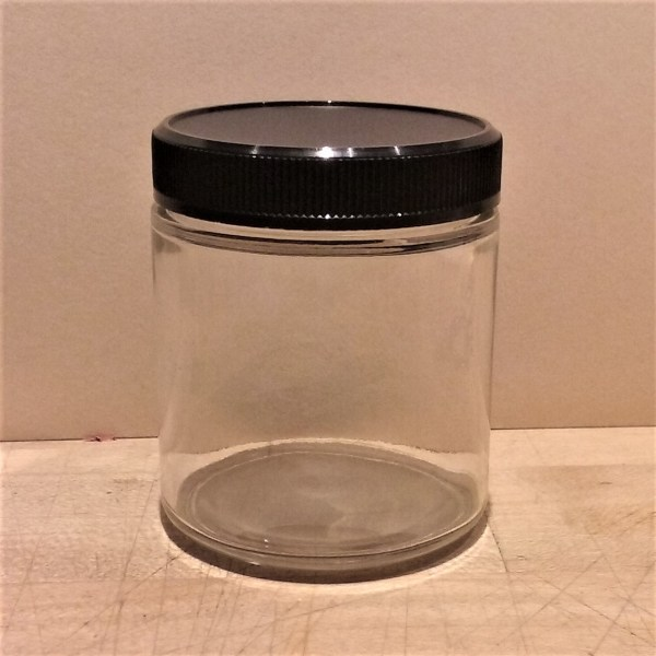 4 Oz Clear Glass Jars with Lids