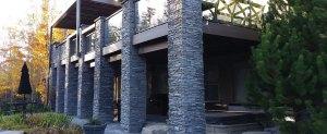 calgary deck builders build a custom 2 story deck and balcony