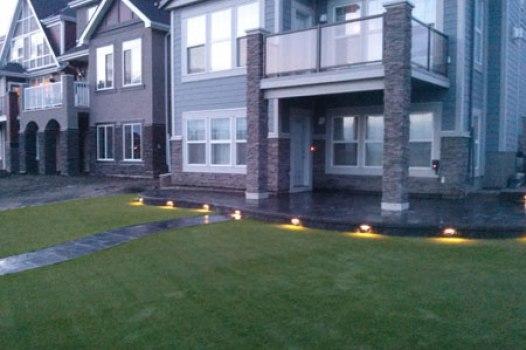 Calgary Outdoor Lighting Installation