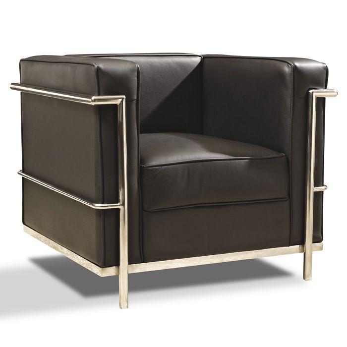 Silln Le Corbusier LC2  Rplica de calidad del famoso