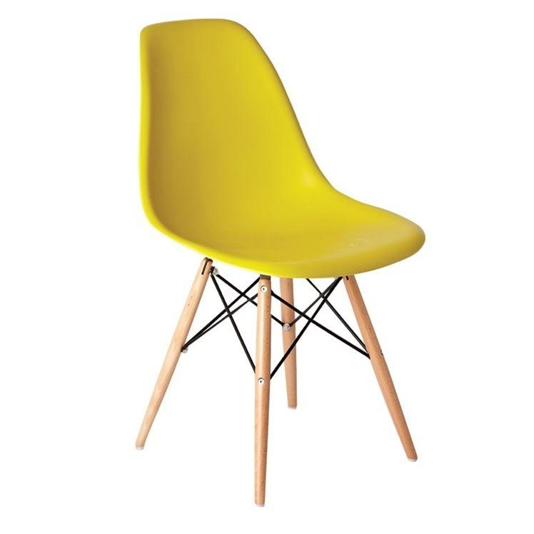 Silla Eames DSW plastic  Rplica de la famosa silla  Varios colores