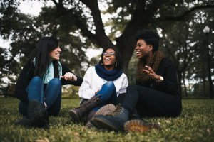 three friends having gospel conversations