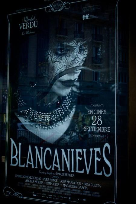 Blancanieves movie poster