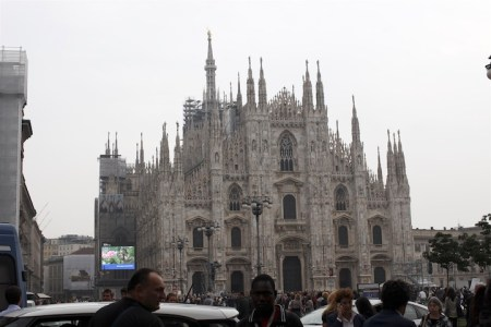 Milan, cathedral, image by akin abayomi for livingfash