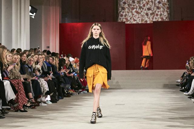 Lala Berln, image by Livingfash media AW2017 Collection Runway during Copenhagen Fashion week.