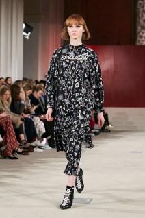 Lala Berlin AW2017 Collection Runway during Copenhagen Fashion week. Image credit Akin Abayomi, Livingfash media.