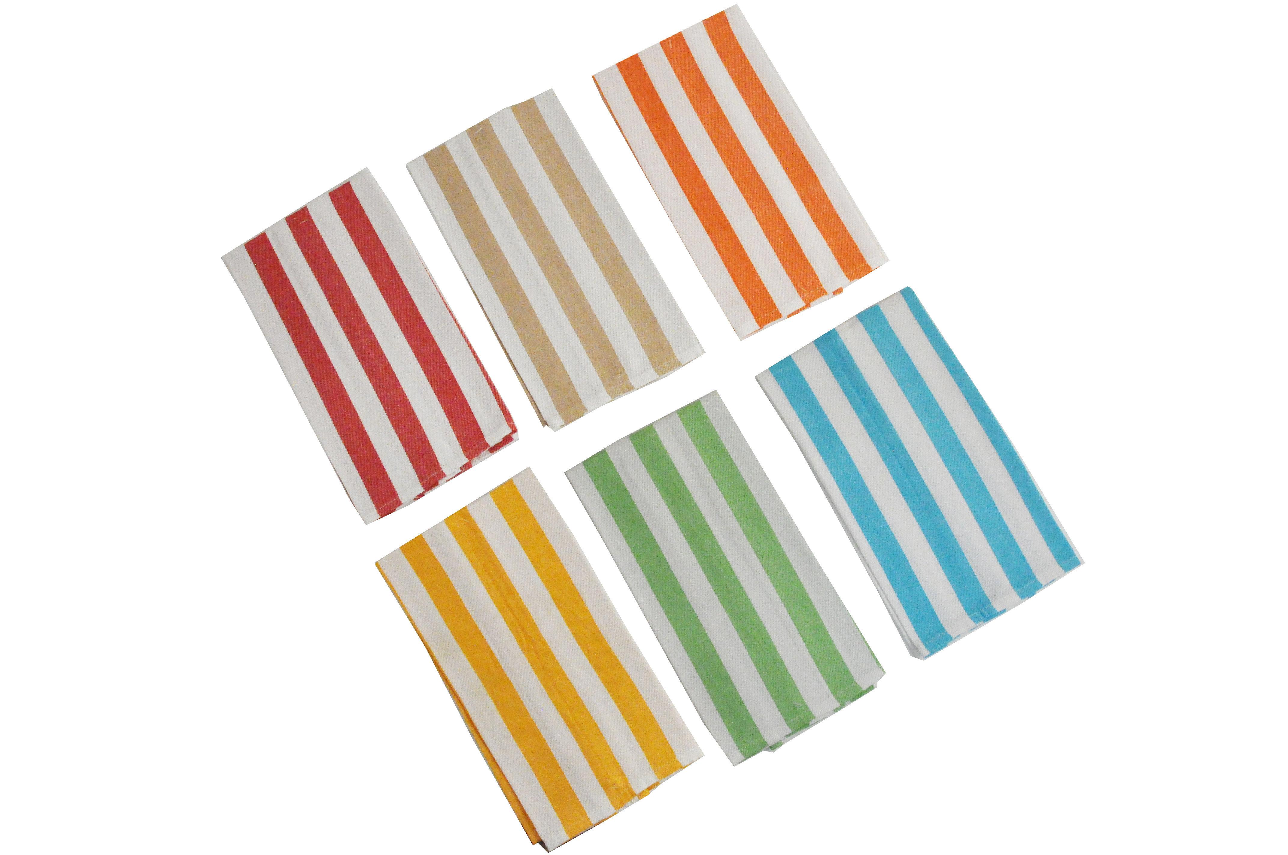 cheap kitchen towels kidkraft deluxe big & bright 53100 harbor stripe towel 15x25 case pack 144 living