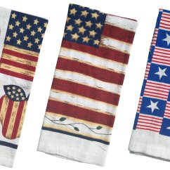 Terry Kitchen Towels Cheap Extractor Fan Americana Printed Towel Designs 15x25