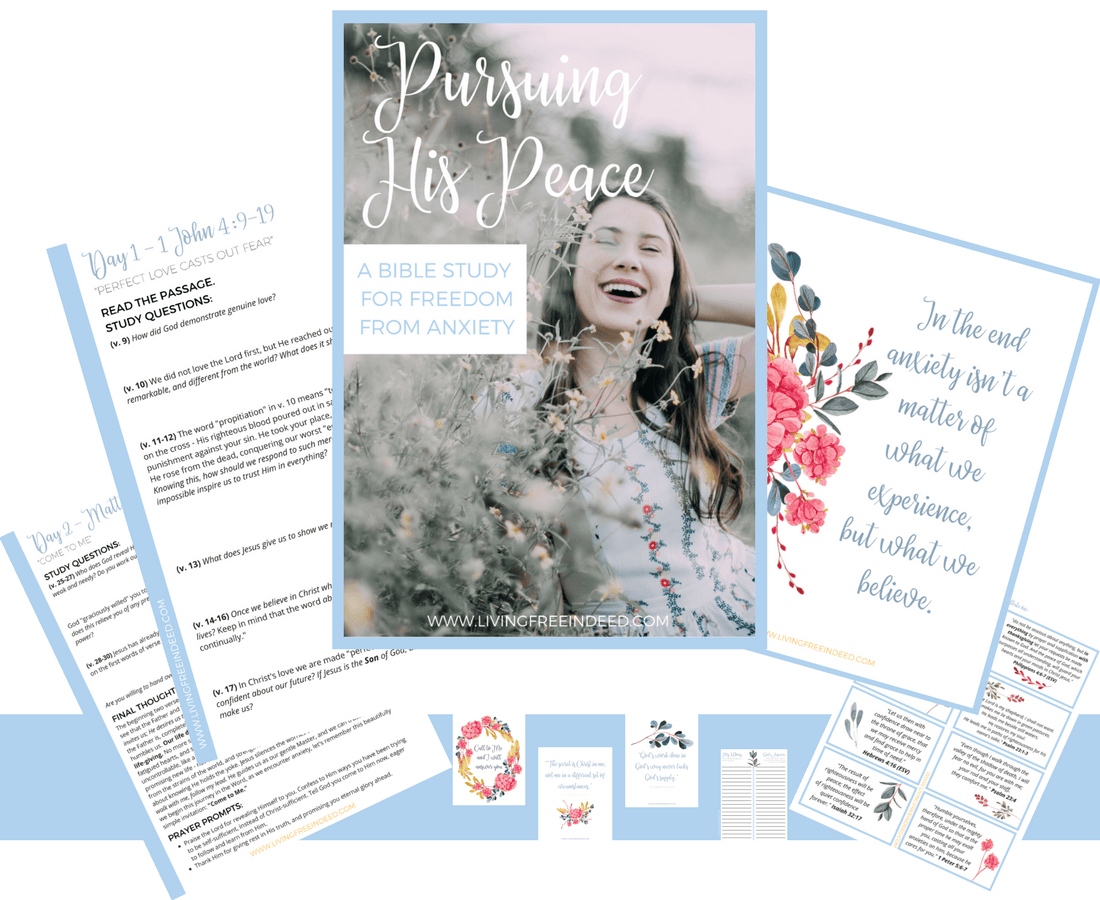 Pursuing His Peace: A Bible Study for Freedom From Anxiety