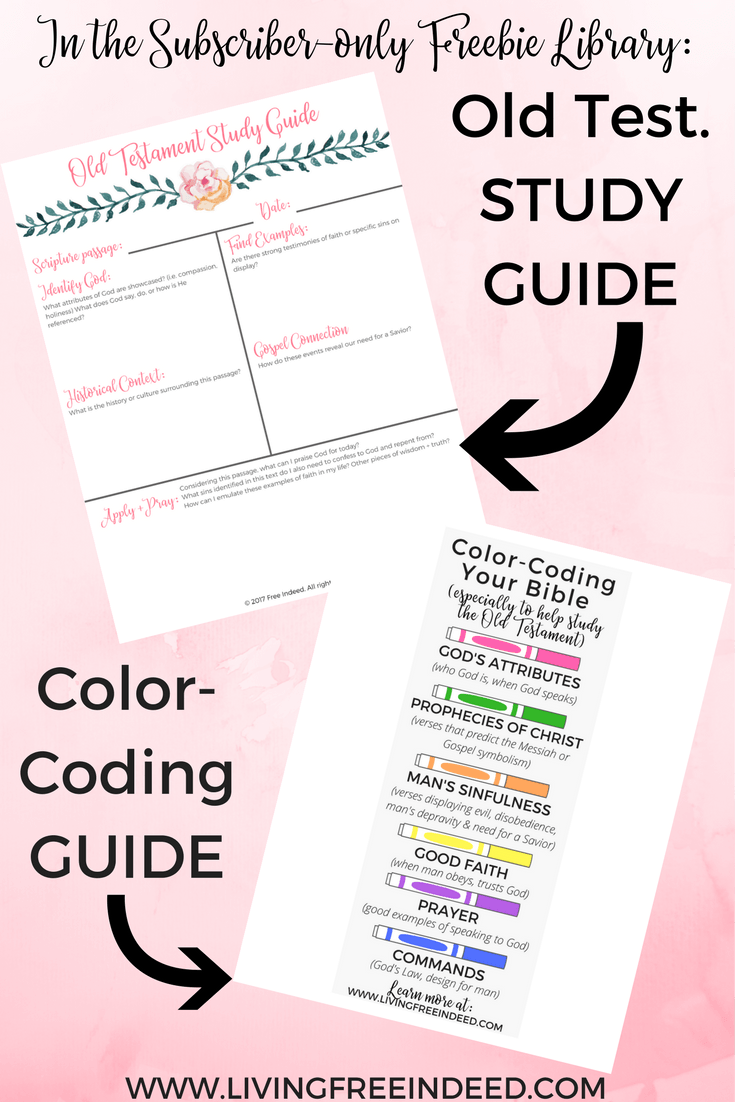 image regarding Free Printable Bible Study Guides identified as 5 Straightforward Suggestions for Examining the Outdated Testomony - Cost-free Sure