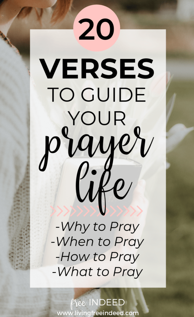 A Christian Woman's Mini Guide to Prayer - Free Indeed