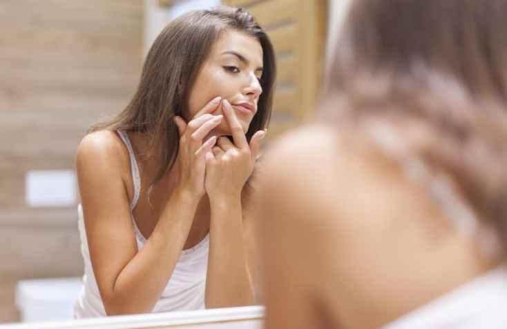 Remove cystic acne overnight