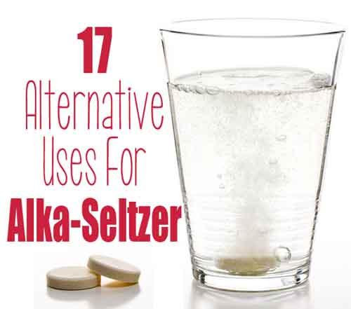 17 Alternative Uses for Alka-Seltzer