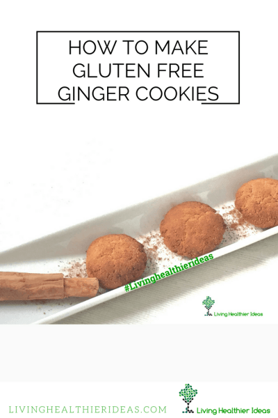 DIY How to make gluten free cookies