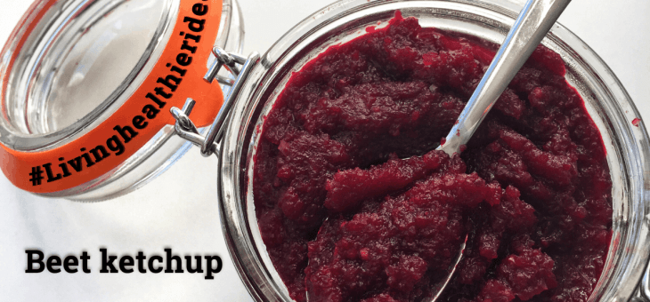 DIY How to make beet ketchup