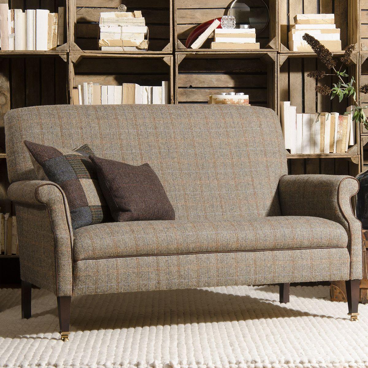 harris tweed bowmore midi sofa corner ikea ebay tetrad compact small sofas living homes