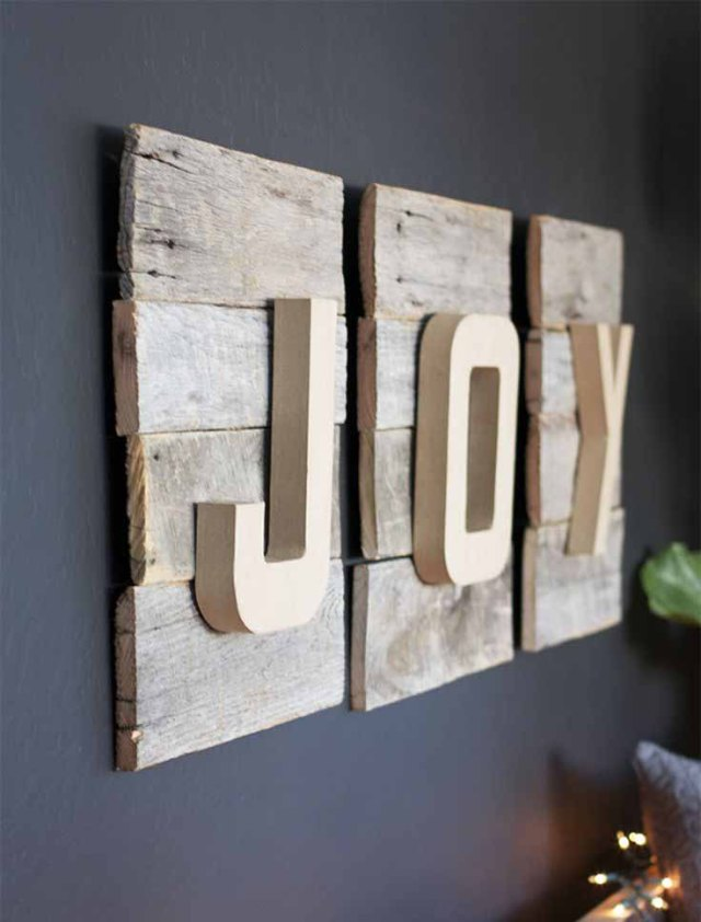 Reclaimed Wooden Pieces