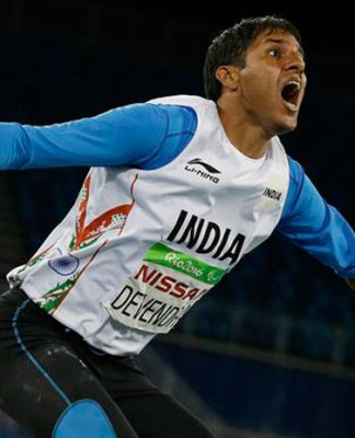 Devendra Jhajharia Two Times Gold Winner at Paralympic Games