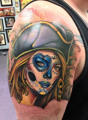 Day of the Dead Tattoos 6